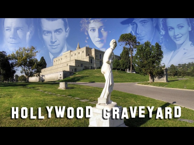 FAMOUS GRAVE TOUR Forest Lawn Glendale 3 Humphrey Bogart Mary Pickford etc