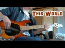 Selah Sue - This World - Bass Cover (By Paul B) with Tab