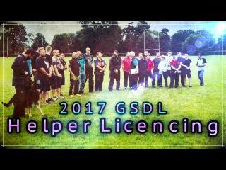 GSDL Schutzhund Decoy IPO Helper Licensing And Training Weekend 2017