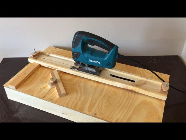 Building a Jigsaw Cutting Station - Dekupaj Testere Kesim Tezgahı