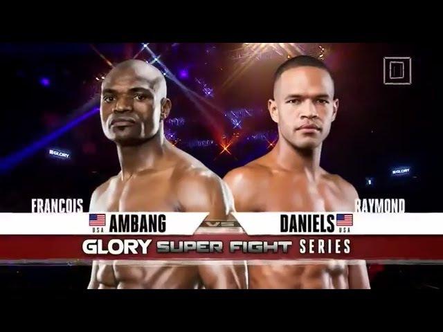 Красивейший нокаут! Beauty KO Raymond Daniels vs Francois Ambang Glory 16