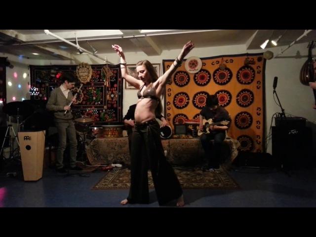 Voladorez feat Polina Shandarina Tribal Fusion Improvisation 22 04 2017