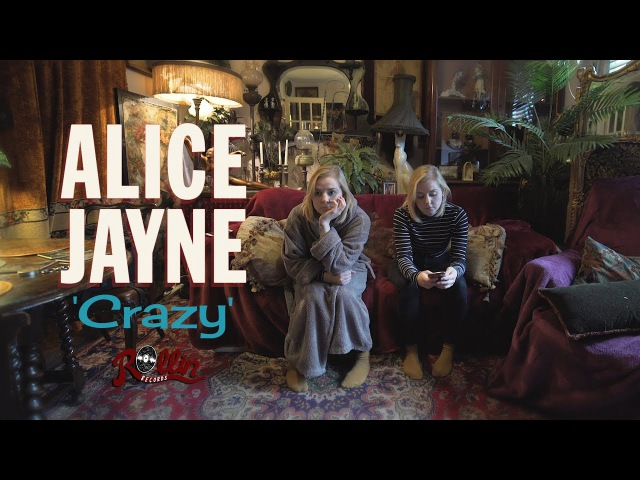 Alice Jayne 'Crazy' ROLLIN RECORDS official music video BOPFLIX