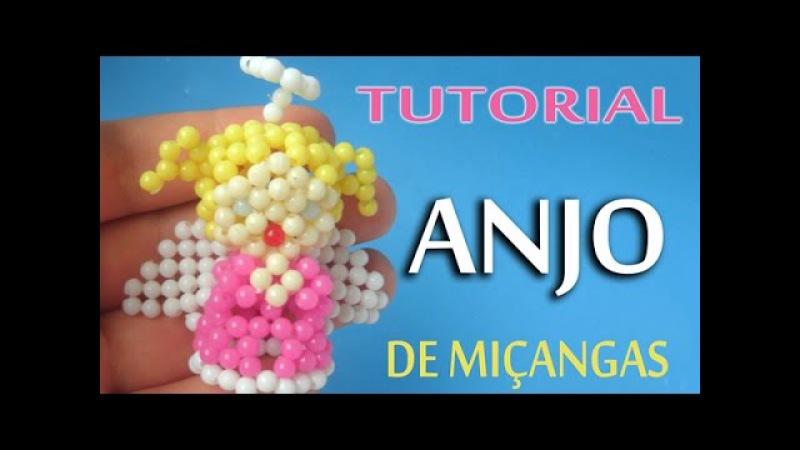 Anjo de Miçangas - Passo a Passo | Tutorial Angel Beads