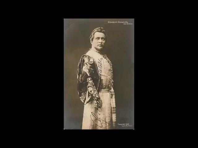 Verdi - Otello - Già nella notte densa - Ester Mazzoleni, Giovanni Zenatello (1911)
