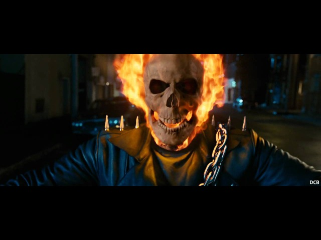 Ghost Rider 2007 Rider laughs