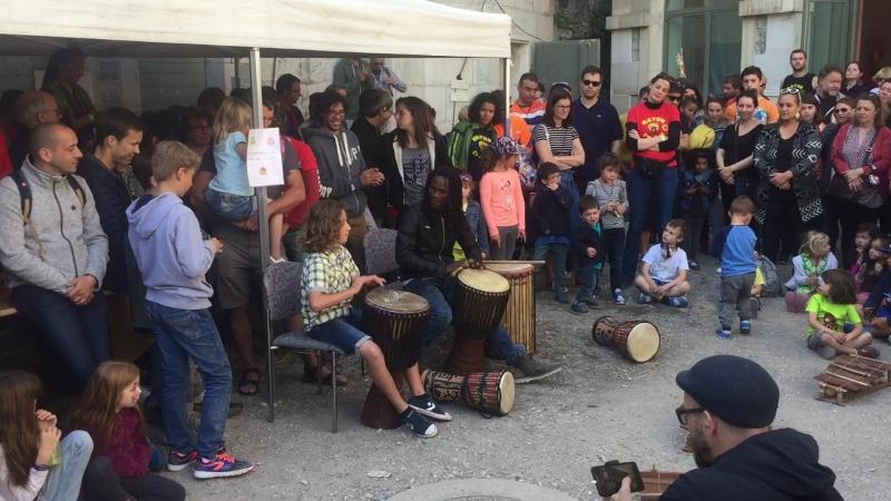 Форт Леклюз Fort l'Ecluse batuk en fête