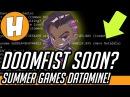 Overwatch Doomfist Incoming Soon Summer Games Datamine Crash Logs Analysis Hammeh