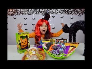 Обзор покупок на Хэллоуин. Halloween Shopping Review.