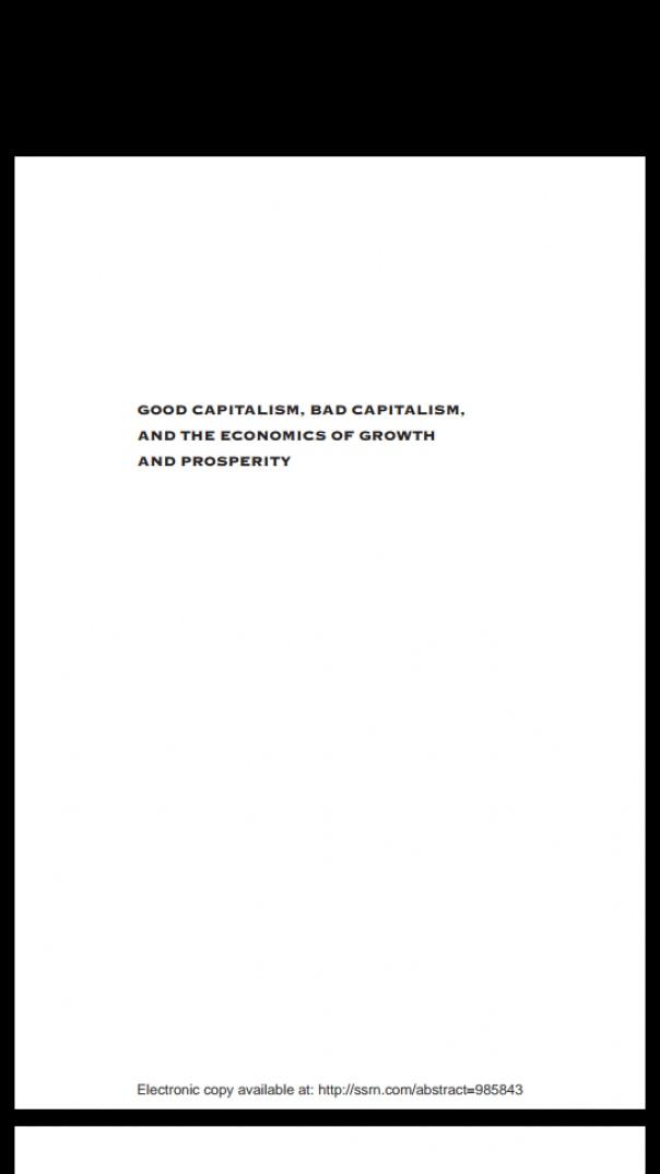 good capitalism bad