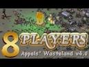 8 Players Red Alert 2 Yuri's Revenge Appels' Wasteland v4 0 Map 4 vs 4