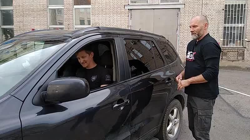 Выживание Самооборона Упражнение Вытащить человека из машины 2