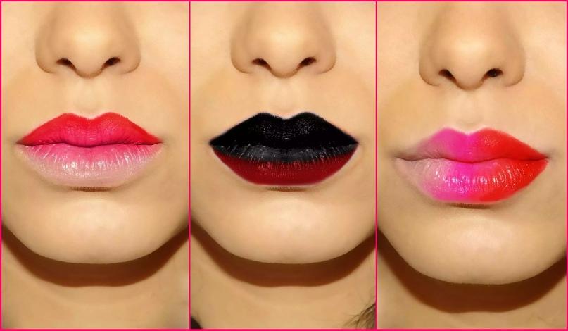 Как сделать омбре на губах., изображение №6