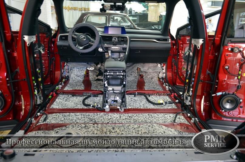 Комплексная шумоизоляция Lexus RX, изображение №3