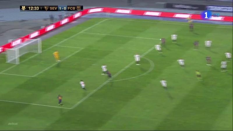 Barcelona x Sevilha (Final Supercopa Espanha)