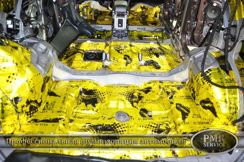 Комплексная шумоизоляция Hyundai ix 35, изображение №7
