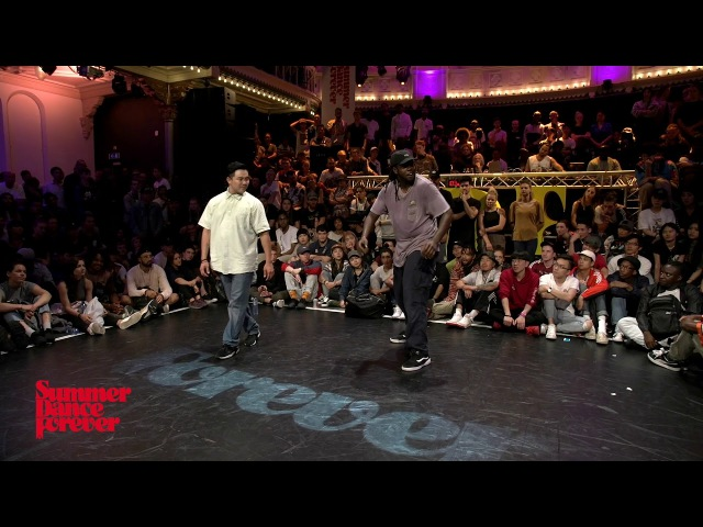 Dandy vs MonstaPop 3RD ROUND BATTLES Popping Forever - Summer Dance Forever 2017