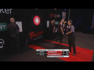 Raymond van Barneveld vs Gary Anderson (PDC US Darts Masters 2017 / Quarter Final)