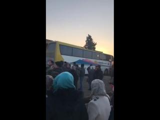 Встреча жителей из аль-Фуа и Кефрайя в городе Алеппо