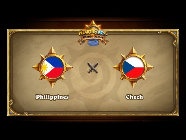 Chezh vs Philippines Hearthstone Global Games Group Stage