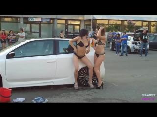 Sexy car wash 2 sexy girls car wash   bonnie rotten, boroka bolls, brandi belle, brandi edwards 2017