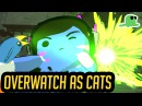 Overwatch Cats - D.Va Selfie Intro ft. Katsuwatch PLUSHIES