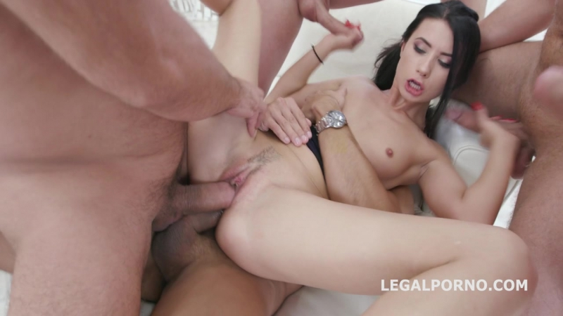 Nicole Black (Welcome to Porn Anal First DP First DAP attempt New Babe gets in the industry and she worked hard!)[2017, HD]