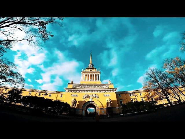 Адмиралтейство Нева Осень Admiralty Neva Autumn