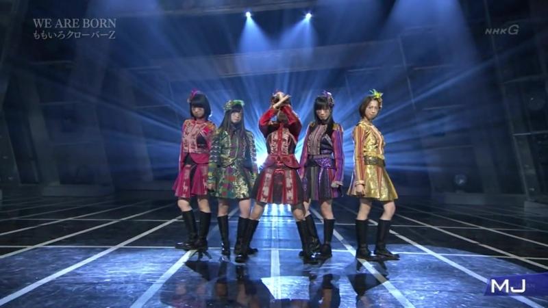 Momoiro Clover Z - WE ARE BORN [MUSIC JAPAN]