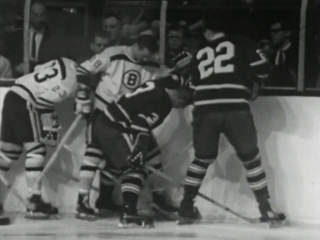 1966 LEAFS VS BOSTON  NOV  26  ORR SCORES starts in 1st like it did on TV back then 24 HOUR POST