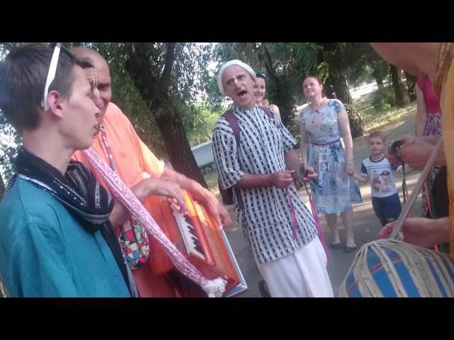 Чайтанья Нитай дас на Падаятре Вологоград