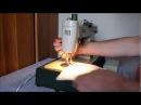 Fan PRL - przedstawia pracę maszyny do szycia sewing machine Predom Łucznik klasa 455