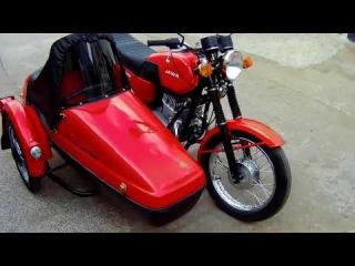 Реставрация мотоцикла Ява 350 638. Знаменитая Jawa Люкс!