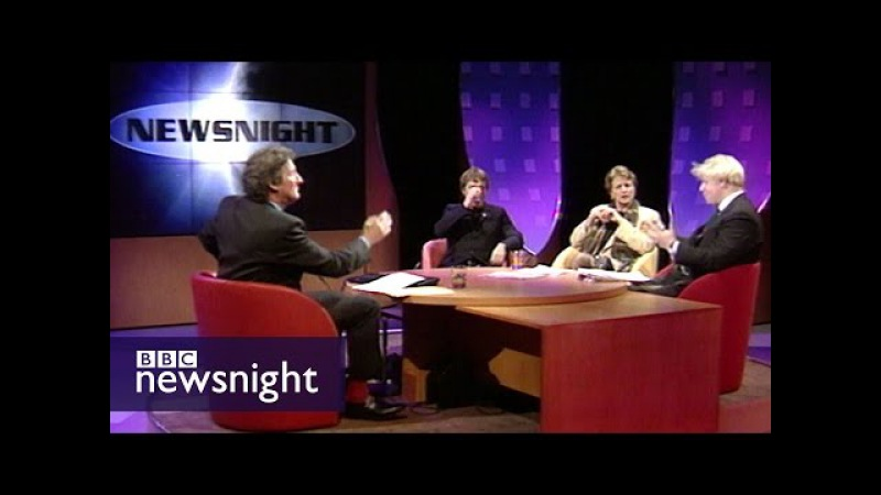 The UK's place in Europe Paxman Boris and Eddie Izzard 1997 Newsnight archives