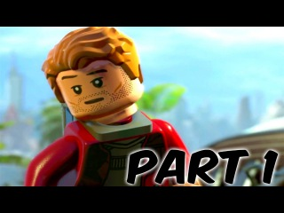 LEGO Marvel Super Heroes 2 Gameplay Walkthrough Part 1 [Guardians of the Galaxy] 1080P 60FPS