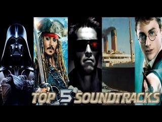 ТОП 5 Саундтреков из популярных кинофильмов - Piano Cover
