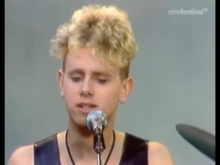 "Depeche mode people are people (broadcast on german tv show ""musik convoy"" schleiden april 16, 1984)"