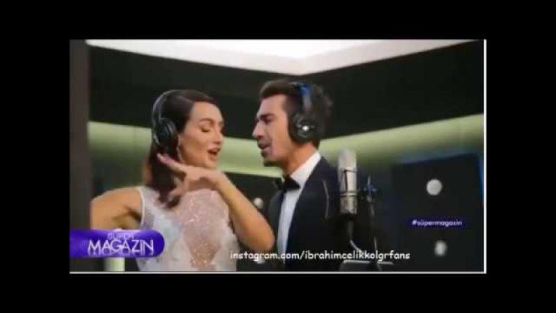 İbrahim Çelikkol Birce Akalay Backstage from KanalD Promo 2017-2018!