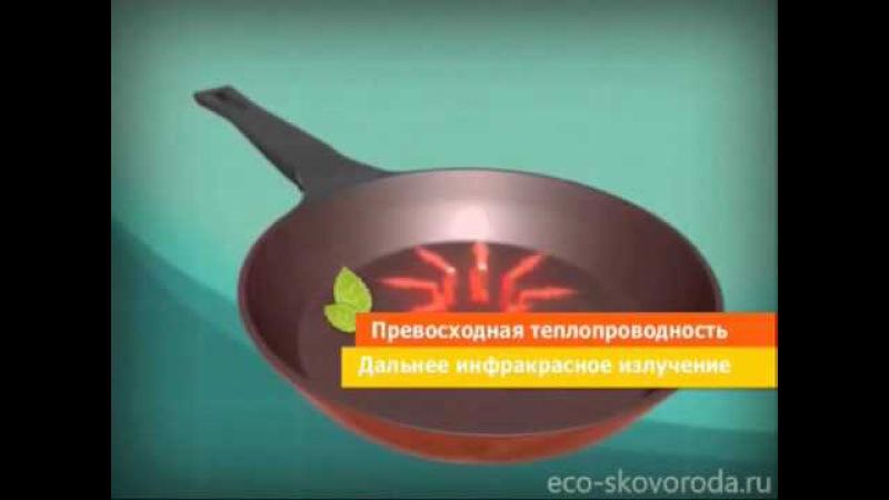 Эко посуда FRYBEST c покрытием Ecolon (часть 1)