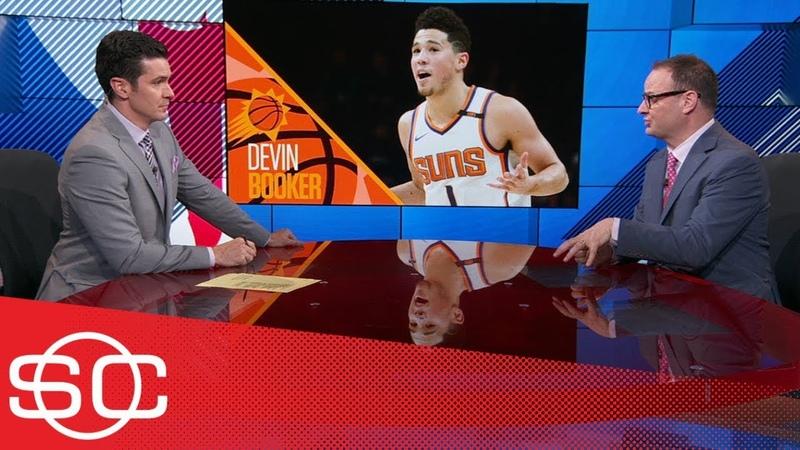 Woj Devin Booker nearing max extension with Suns latest on Kawhi Leonard to Lakers talks | ESPN