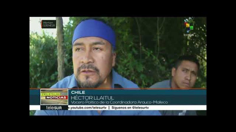 Chile reivindican figura del luchador mapuche Matías Catrileo