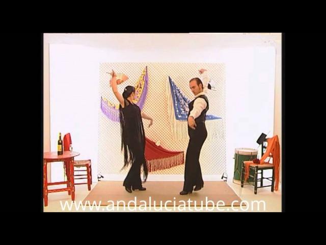 Aprenda a bailar sevillanas. La primera.