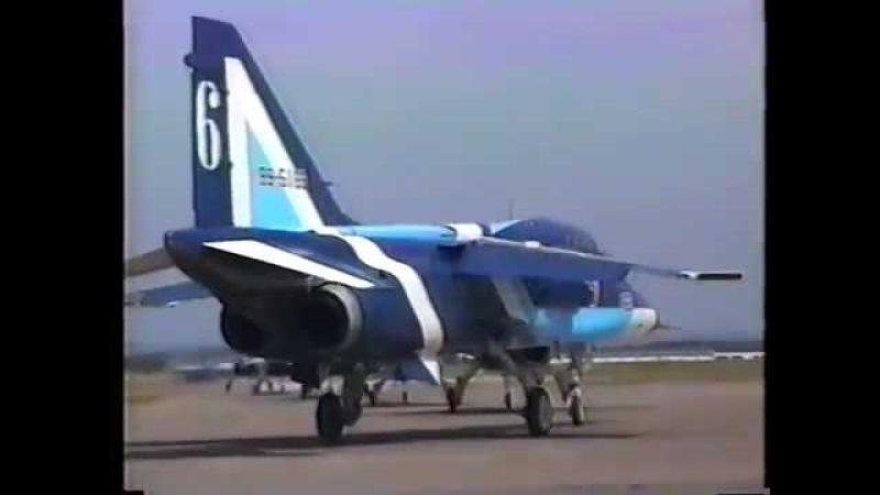 千歳基地航空祭1994 T 2ブルーインパルス中盤まで JASDF Chitose Air Show