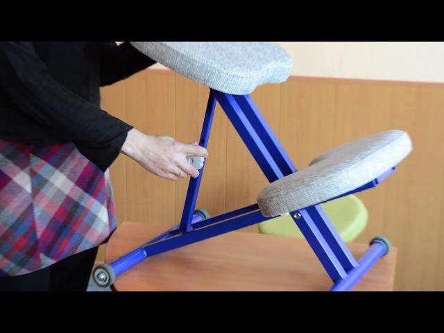 Эргономичный коленный стул ОЛИМП СК-1 Описание