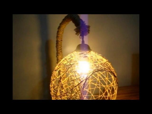 Ev Yapımı Tutkal ile Balon Lamba Denemesi