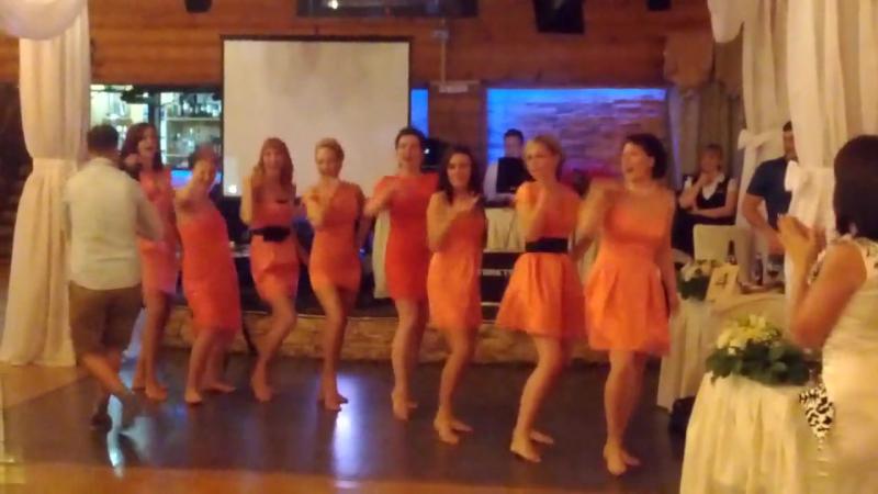 DiscoGirls Танец сюрприз от невесты и подружек аееее Ведущая на свадьбу в Туле