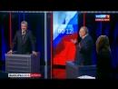 Вы все политическое говно! Заключительное слово Жириновского на дебатах у Соловь