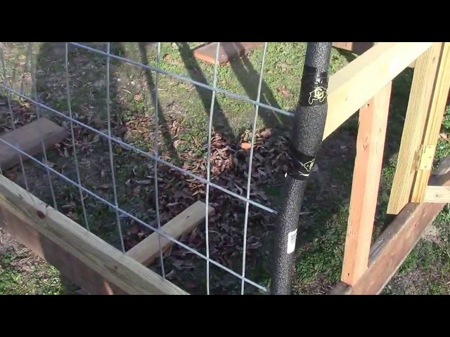 Building a Greenhouse with Cattle Panels