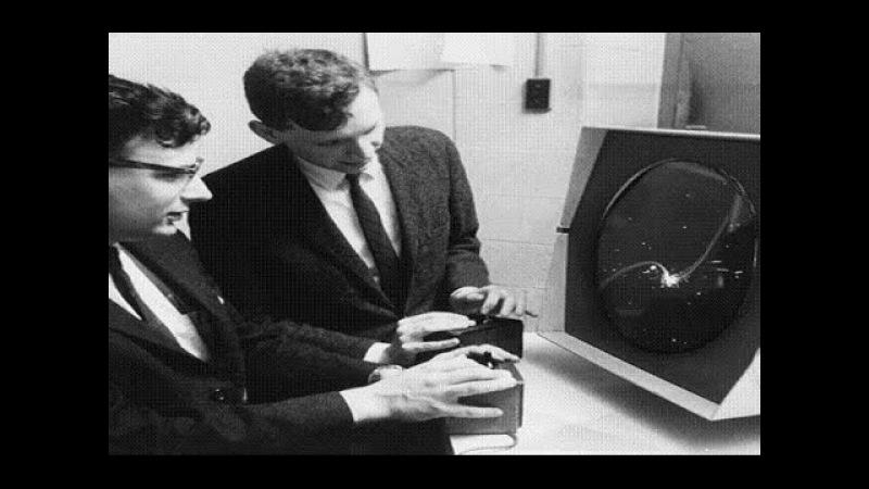 Самая первая компьютерная игра в мире Spacewar Первая коммерческая игра Spacewar