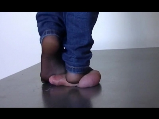 Arletta nylon feet cock trampling / cock crush / foot fetish
